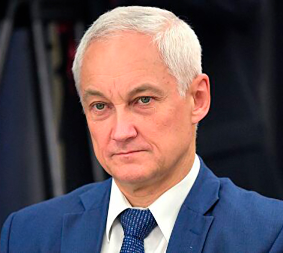 Andrey Belousov - First Deputy Prime Minister of the Russian Federation